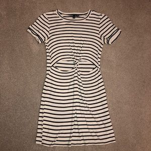 Kendall and Kylie striped dress